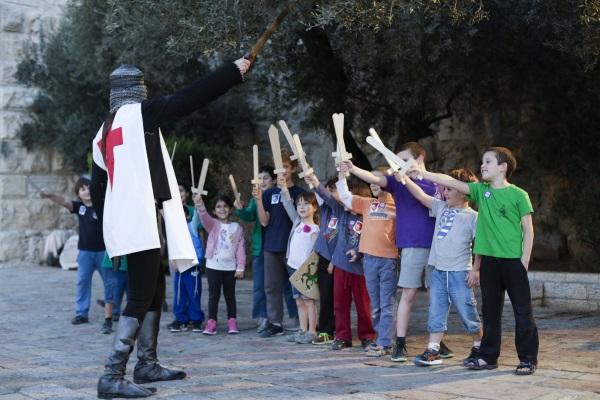 מצודת האבירים במוזיאון מגדל דוד