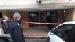 פתח ביתם של הזוג כדורי צילום: דוברות המשטרה