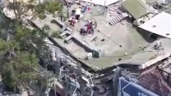 הריסות רעידת האדמה במקסיקו