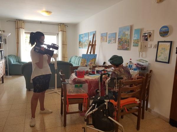 צילומי סרט הגמר של שלי כהן, אמא מאגי