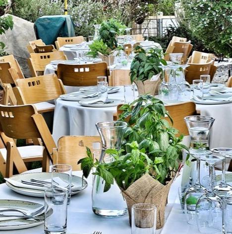 חתונה בגינה