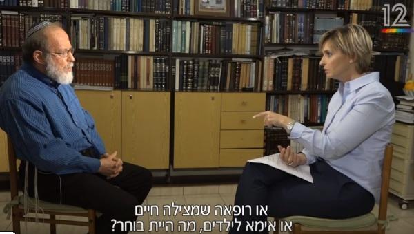 הרב אלי סדן בראיון לדנה וייס