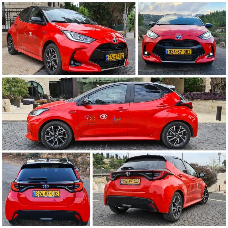 העיצוב החיצוני העגלגל והמוקפד נהדר במיוחד בצבע האדום של רכב המבחן
