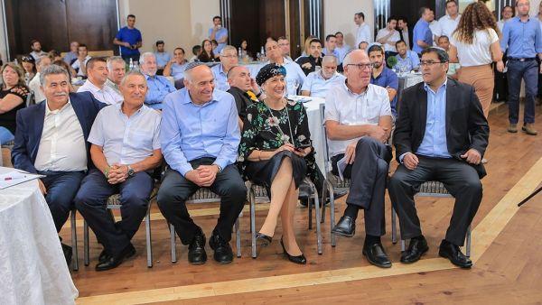 אירוע הפרידה משר שלום גרבי