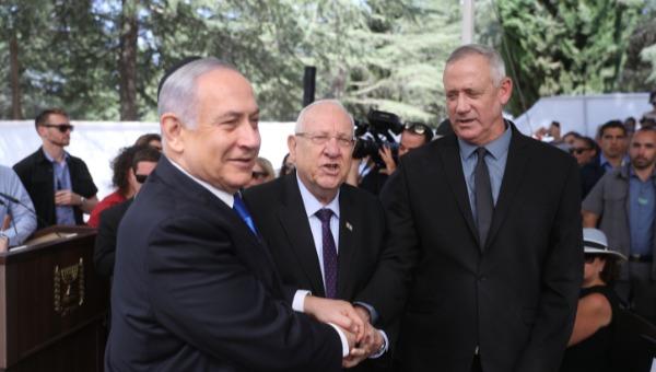 ראש הממשלה ובני גנץ