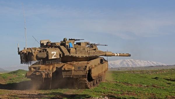 """טנק של צה""""ל. ארכיון"""