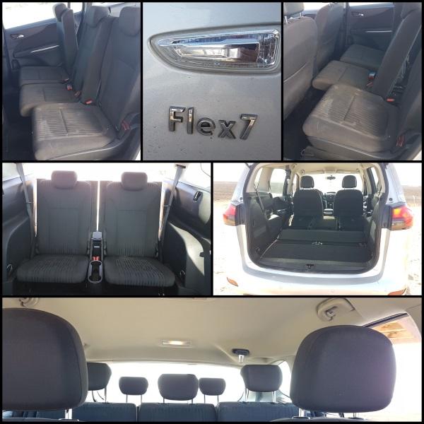 Flex7 מאפשר גמישות בחלוקת תא הנוסעים