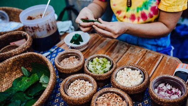 השוק בתאילנד