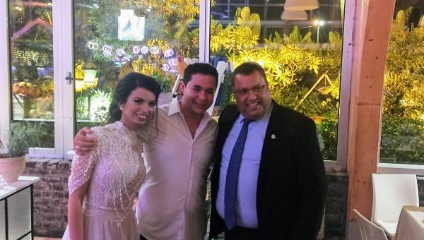 גם ראש העיר הגיע לחתונה