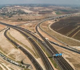 המקטע החדש של כביש 6 צילום: עין השופט הפקות