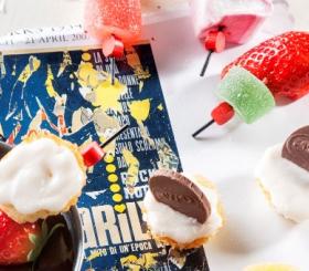 שיפוד קאפקייק ומרשמלו בפונדו שוקולד צילום: סטודיו כרמית