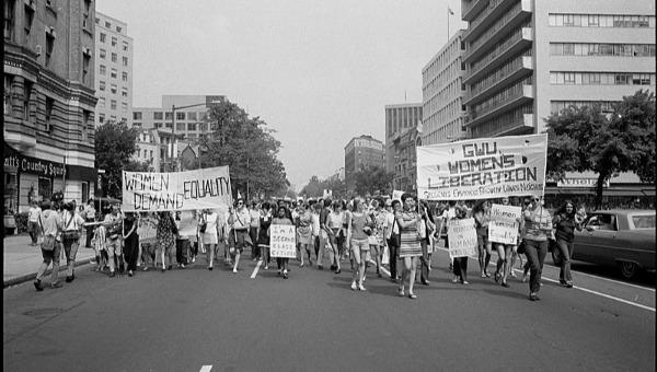 הפגנה למען שחרור האישה בוושינגטון, ארצות הברית, 1970