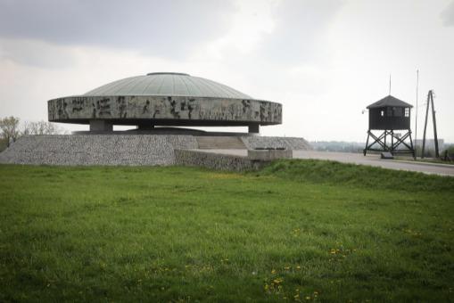 הר האפר במחנה מיידאנק שבפולין
