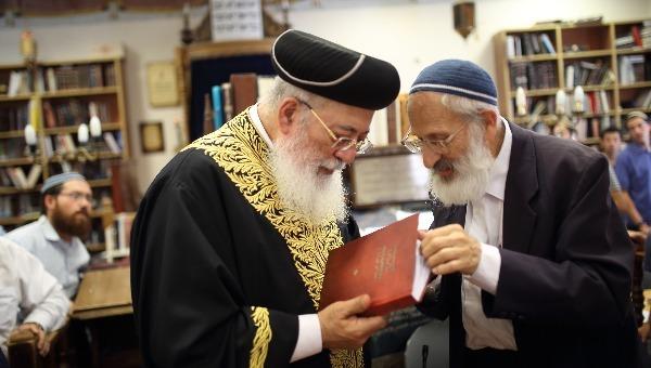 הרב אבינר והרב עמאר
