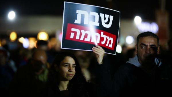 הפגנה באשדוד נגד סגירת המרכולים בשבת