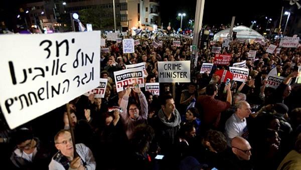 ההפגנה שבה הובאה הגיליוטינה
