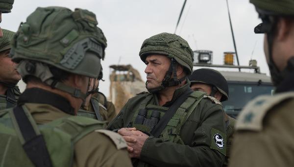 מפקד פיקוד דרום גבול עם עזה