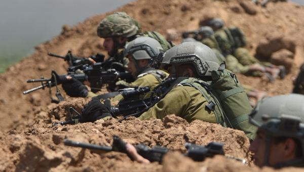 """כוחות צה""""ל פרוסים סביב רצועת עזה"""