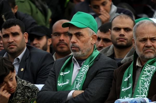 מנהיג חמאס יחיא סינוואר