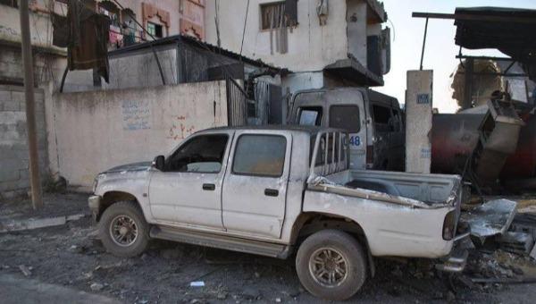 ארכיון: שכונה לאחר הפצצת חיל האוויר