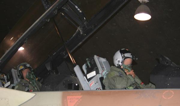 טייסת 119 במהלך המבצע