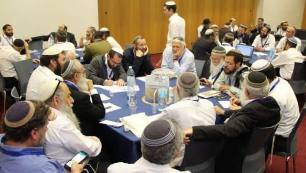 כנס הרבנים בשבוע שעבר