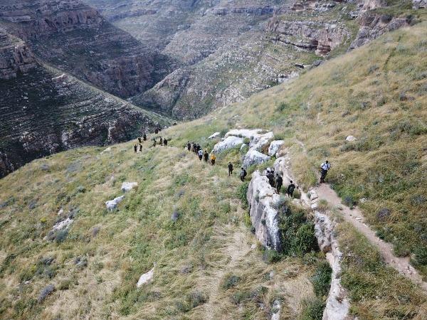הלוחמים במהלך המסע ביהודה ושומרון