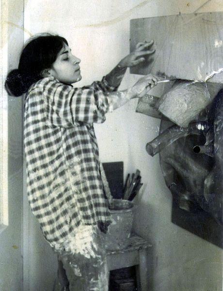 וינפלד בעבודה, ירושלים, 1969