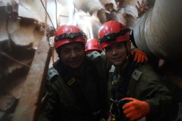 בתוך מנהרת טרור התקפית משטח לבנון לישראל עם האלוף סטריק