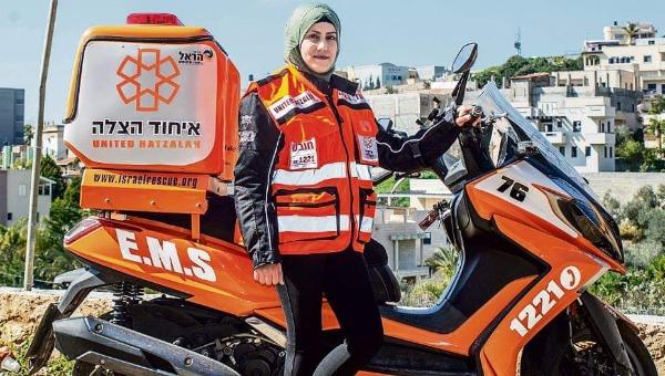 האופנוענית המוסלמית הראשונה בארגון