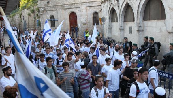 ארכיון: ריקוד דגלים ביום ירושלים