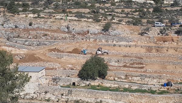 השטחים שעליהם, לפי הטענות, משתלטת רשות הפלסטינית
