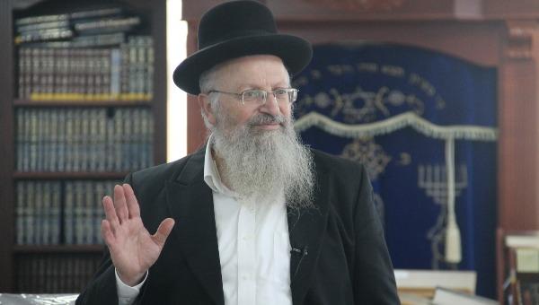 חתום על מכתב הרבנים. הרב שמואל אליהו