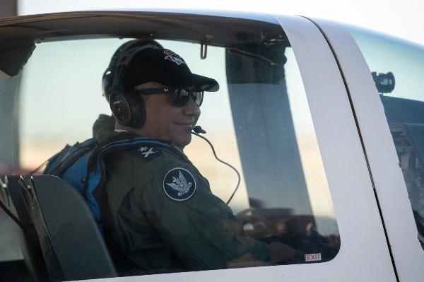 בביקור בחיל האוויר
