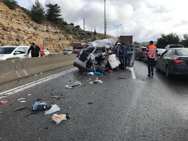 הרכב הפרטי שהיה מעורב בתאונה