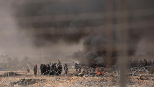 מנסים לחדור לישראל בחסות ההפגנות. הפגנות ברצועת עזה