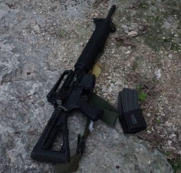 הנשק שהיה על המחבל