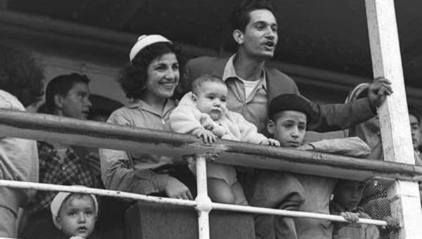 עולים ממרוקו בשנת 1954