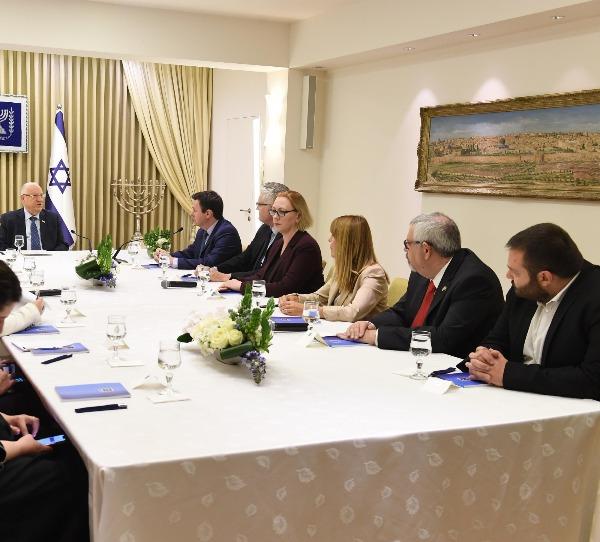 חברי ישראל ביתנו במפגש עם ריבלין