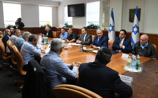 פגישת ראשי הרשויות ביהודה ושומרון עם נתניהו, לפני כחצי שנה