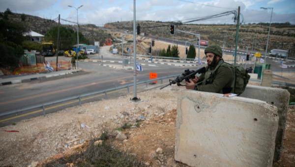 חיילים סמוך לכביש 60 בבנימין