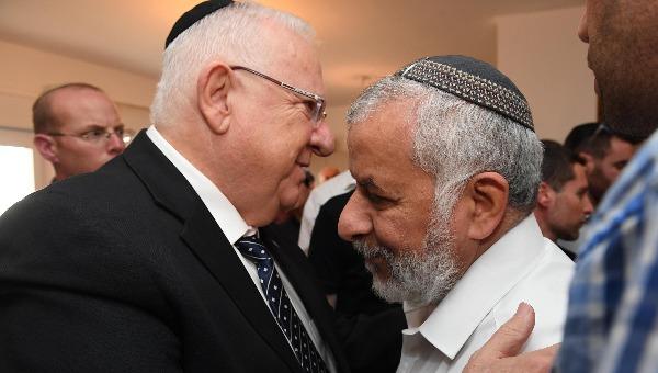הנשיא ואביו של הרב איתמר בן גל