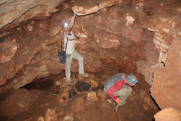 המערה שבה נמצא המטבע