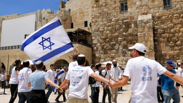 ריקוד הדגלים בירושלים