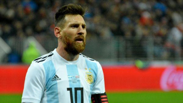 לא יגיע לישראל. ליונל מסי במדי ארגנטינה