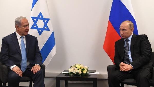 פגישת נתניהו ופוטין במוסקבה