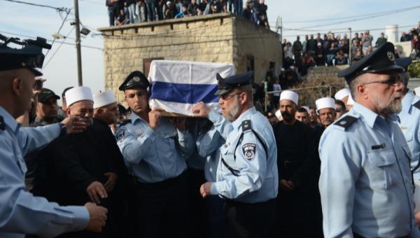 """הלווייתו של השוטר זידאן סייף ז""""ל"""