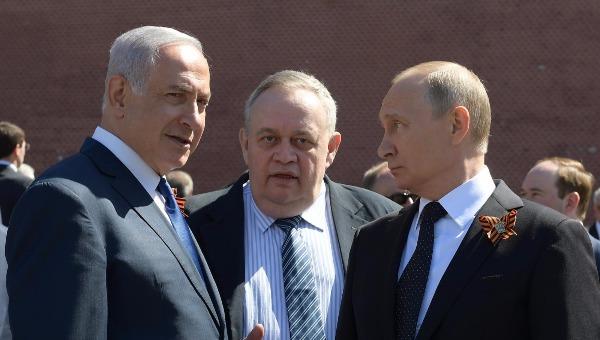 פוטין ונתניהו בפגישתם במוסקבה