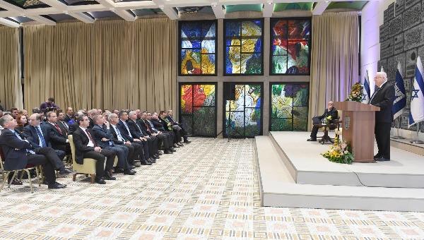 ריבלין בנאומו בפני ראשי הנציגויות הישראליות
