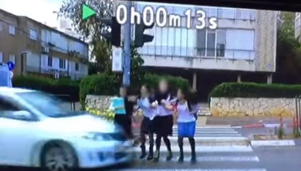 התאונה בהרצליה במהלך צילומי הסרטון לפורים